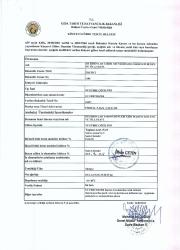 Свидетельство о регистрации на Pitbull P-B-Zn